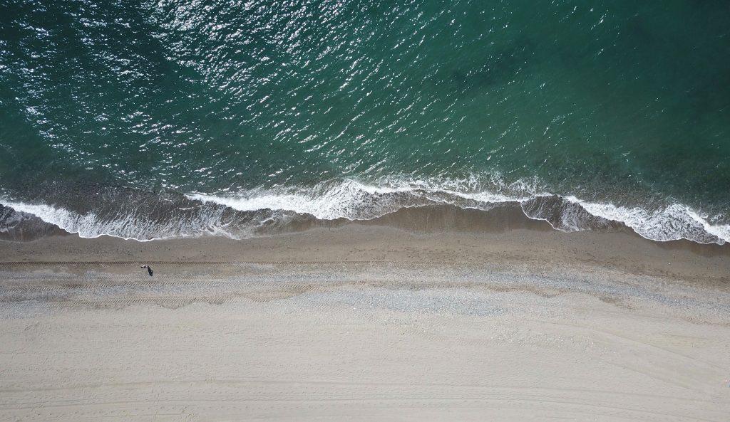Stranden met Blauwe Vlag