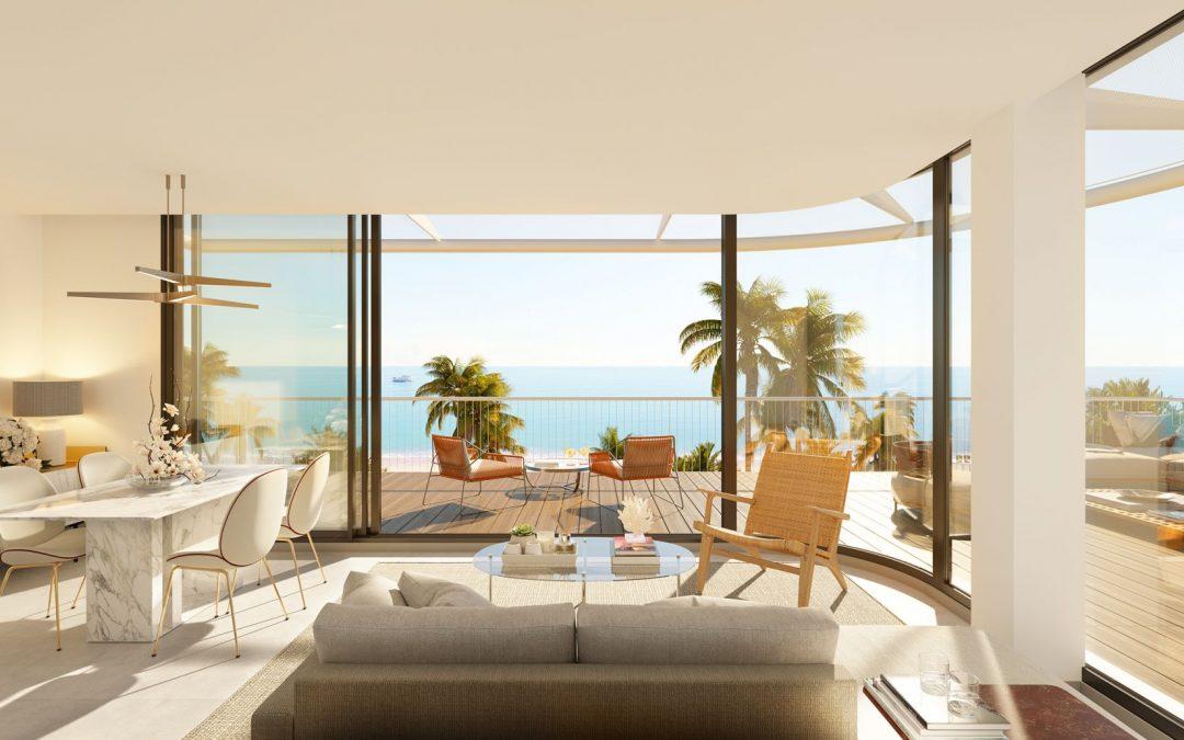 Appartements avec vue sur la mer